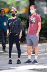 Kaley Cuoco Steps out in New York