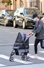 Kaley Cuoco With her sister Briana out in New York
