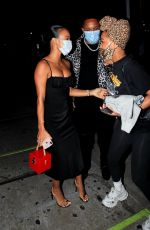 Karrueche Tran Bumping into Meagan Good at EJ King