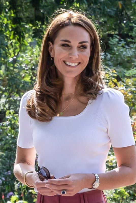Kate Middleton Attends an event about the importance of Parent-Powered Initiatives in London