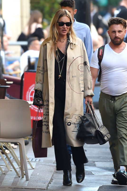 Kate Moss Out in NYC