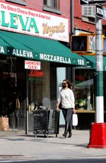 Katie Holmes and Emilio Vitolo Jr. outside his restaurant in NYC