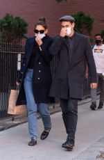 Katie Holmes and Emilio Vitolo Sighting in New York