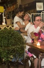 Katie Holmes Cuddles up and shares a kiss with new boyfriend Emilio Vitolo in New York