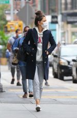 Katie Holmes Looks tired in New York