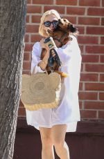 Kelly Rutherford Out in Beverly Hills with her dogs