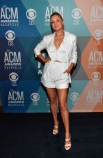 Kelsea Ballerini Attends virtual radio row during the 55th ACM Awards at Gaylord Opryland Resort & Convention Center in Nashville