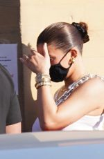 Kendall Jenner & Kylie Jenner Keep a low profile as they leave Nobu after dinner in Malibu
