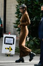Kendall Jenner Leaves a Versace fitting in Milan