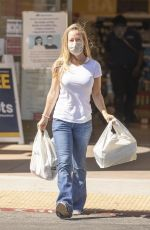 Kendra Wilkinson Looks truly happy while out shopping for essentials in Calabasas