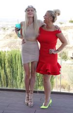 Kerry Katona and Lilly-Sue McFadden on their holiday at the amazing Silverfield Villa in Grenada, Spain