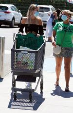 Kerry Katona Out in Spain with her eldest daughter Lilly-Sue McFadden