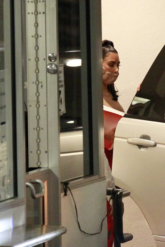 Kim Kardashian Spotted leaving an office building in Los Angeles