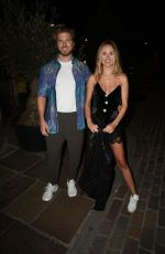 Kimberley Garner At London film premiere of LUCID at The Old Street Gallery