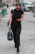 Kirsty Gallacher Out in London