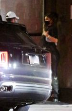 Kylie Jenner Keeps it low key as she is seen leaving 40 Love with a mystery guy in Los Angeles