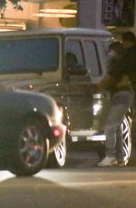 Kylie Jenner Leaving 40 Love in West Hollywood