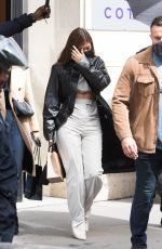 Kylie Jenner Spotted out & about with friends in Paris