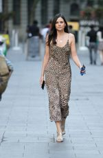 Lilah Parsons Arriving at Heart Radio in London