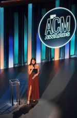 Lily Aldridge At 55th Academy Of Country music awards in Nashville