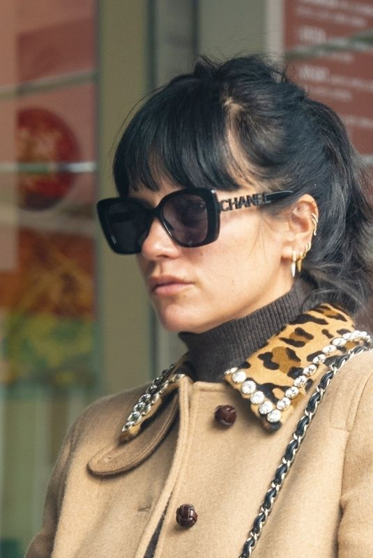 Lily Allen Spotted for the first time since her Las Vegas wedding in London