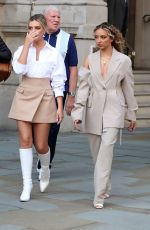 Little Mix Arriving at BBC Radio One