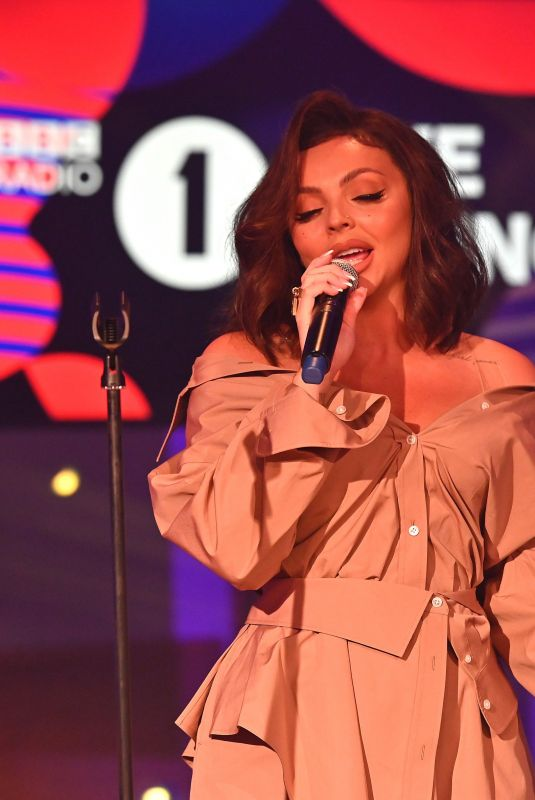 Little Mix Performing at BBC Radio One