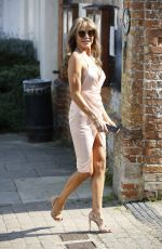 Lizzie Cundy Leaving a country pad out on a exciting date and dressed suitably