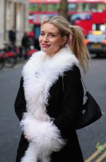 Lottie Moss Enjoys an evening at the Bluebird cafe with friends in London