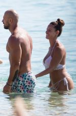 Lucia Javorcekova Looking Hot on holiday with her family in Naxos island, Greece