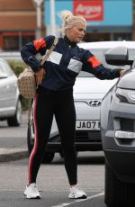 Lucy Fallon Out near her home in Manchester