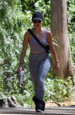 Lucy Hale Goes hiking in Studio City