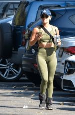 Lucy Hale Goes on a solo hike in the morning in Studio City