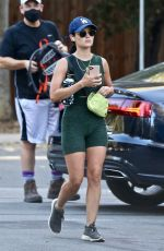 Lucy Hale Out for a hike in Studio City