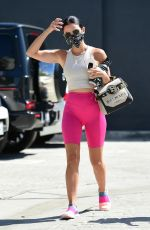 Lucy Hale Spotted on a workout with a friend in Studio City