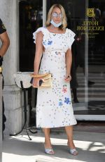 Ludivine Sagnier Out and about in Venice, Italy