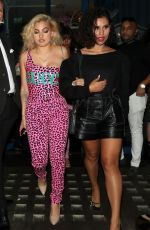 Mabel and Raye Leaving Bagatelle and arriving at Cirque in London