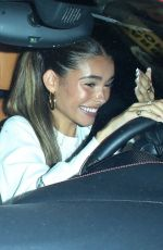 Madison Beer Grabs dinner with friends at Saddle Ranch in Los Angeles
