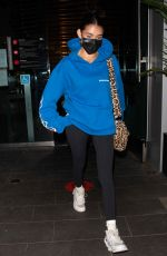 Madison Beer Leaves dinner at BOA in West Hollywood