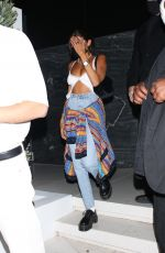 Madison Beer Leaving a party in Hollywood