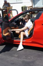 Madison Beer Out for breakfast in West Hollywood