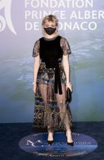 Maisie Williams At Monte-Carlo Gala For Planetary Health in Monaco