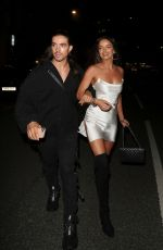 Maura Higgins Pictured at STK in London