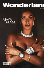 Maya Jama - Wonderland magazine photoshoot Sep 2020