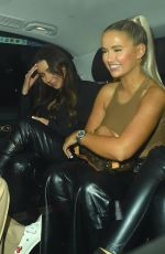 Molly-Mae Hague Pictured at Novikov Mayfair in London