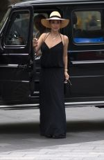 Myleene Klass Seen at Global Radio in London
