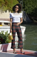 Nathalie Emmanuel Arrives at the 77th Venice Film Festival in Venice, Italy
