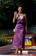 Nathalie Emmanuel Arriving at the Excelsior during the 77th Venice Film Festival in Venice, Italy