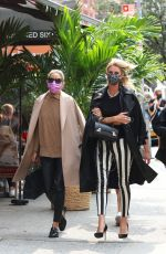 Nicky Hilton & Olivia Palermo Enjoy lunch together at Sant Ambroeus in New York City