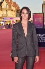 Noemie Merlant Attending the screening of the movie The Professor And The Madman during the 46th Deauville American Film Festival